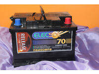 ELECSOL 70ah leisure deep cycle battery hardly used