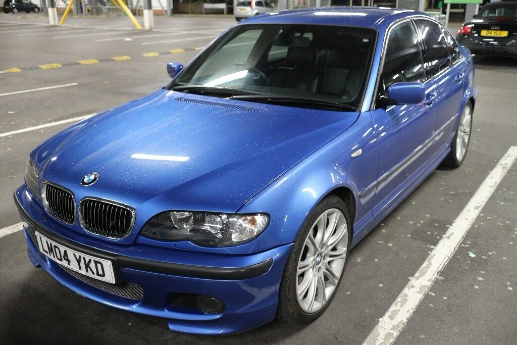 immaculate 2004 bmw e46 330i m sport individual petrol auto estoril blue saloon in bournemouth. Black Bedroom Furniture Sets. Home Design Ideas