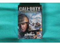 Call of Duty (Finest Hour) Limited Edition Playing Cards. (Unopened)