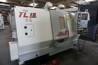 Haas Tl-15 Cnc Lathe Turning Center. Live Tooling Sub-spindle. Loaded 2003