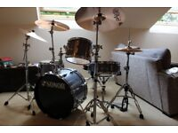 SONOR PLAYER DRUM KIT WITH PAISTE CYMBALS AND GIBRALTAR HARDWARE