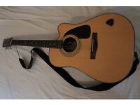 Fender DG10CE Electroacoustic + Bag + Strap + Cable