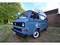 VW T25 Campervan, Newly restored – excellent condition! 10 months MOT
