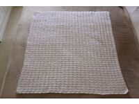 Brand New Babies Handmade Crocheted Newborn Blanket