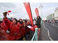 Volunteer cheerers needed for Brighton Half Marathon