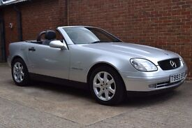 Mercedes 230 SLK, Very low mileage and FSH!
