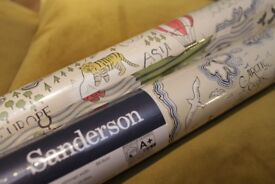 Designer Sanderson TREASURE MAP WALLPAPER - 2 ROLLS from John Lewis