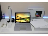 MICROSOFT SURFACE BOOK 2 * Nvidia GTX 1050 * Intel core I7-8650U * 256GB SSD ~ 8GB RAM~DBRAND SKIN