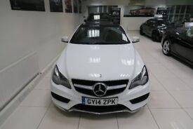 MERCEDES-BENZ E CLASS 2.1 E220 CDI AMG Sport Cabriolet 7G-Tronic Plus 2dr Auto (white) 2014