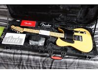 2015 Deluxe Telecaster, Honey Blonde Ash Body and Maple Neck (Mint Condition)
