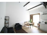 2 bed loft apartment, warehouse conversion, on canal, concierge, walk to station & into Canary Wf