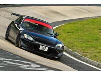 Honda s2000, berlina black, modified track ready car