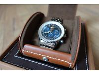 Breitling Navitimer 01 Blue Dial 46MM Watch AB012721 + Box & Certification RRP: £7,850