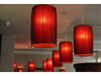 Sales + production logistics manager for bespoke lampshade manufacturer