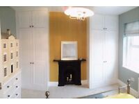 Custom made Fitted wardrobes, Alcove units, Under stairs storage solutions.