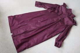 Ladies Waterproof Full Length Coat