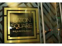 Waiters/Waitresses needed - Eaton Square Bar