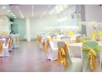 HALL TO HIRE, Decorations, Cutlery and Throne Chairs to Hire!