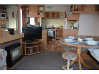 HOLIDAY CARAVAN AT EYEMOUTH TO RENT