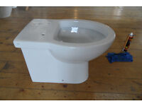 GSI back to the wall toilet pan new