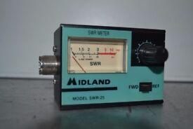 1980s Midland SWR Meter