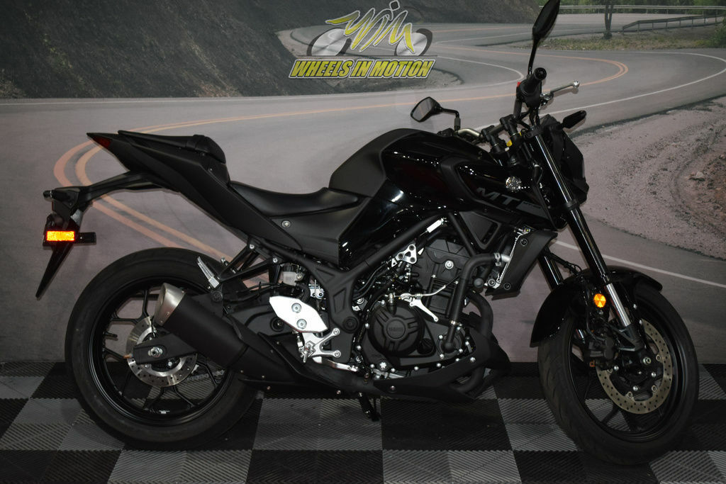 Picture of A 2020 Yamaha MT-03