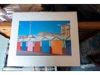 Mounted Photographic Print of Brighton and Hove Scene - Many available.