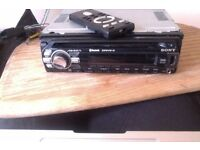 Top of Range SONY CAR STEREO DRIVE-S - 52w x 4 - mp3/cd/i pod/usb with BLUETOOTH and REMOTE CONTROL