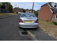 MERCEDES C220 CDI LADY OWNER VERY TIDY INTERIOR NEW MOT & SERVICE WITH £500 SPENT NEW REAR TIRES