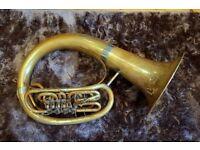 Beautiful Amati 4v F Helicon (helikon / tuba / sousaphone) with gig bag