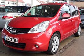 Nissan Note 1.4 16v N-TEC 5dr HPI CLEAR , SATNAV,TOP SPEC