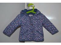 Girls NEXT jacket spring collection 9-12 months