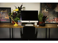 NETIL HOUSE // CREATIVE STUDIO // DESK SPACE