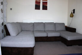 FOR SALE - ROYAL SIZE 6-SEATS CORNER SOFA WITH LAY DOWN EXTRA SPACES.