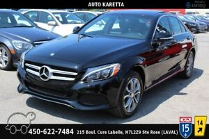 2015 Mercedes-Benz C-Class C300 4MATIC NAVIGATION,LED,CAMERA,PAN