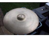 """Avedis Zildjian 22"""" Heavy Ride cymbal - '80s"""
