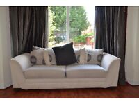 DFS Fabric Sofa 3 Seater