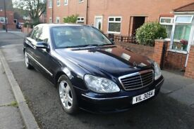 Mercedes-Benz S CLASS, 320 CDI automatic, diesel, blue