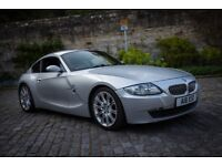 2007 BMW Z4 3.0si coupe in titan silver