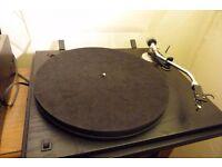 SEE Revolver hi fi record turntable Linn Basik lvv arm fitted