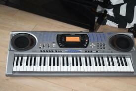CASIO CTK-671 KEYBOARD 61 KEYSWITH POWER ADAPTER/CANBE SEENWORKING