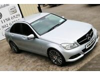 2011 MERCEDES C200 CDI BLUEEFF SE AUTO *NIGHT EDITION SPEC* *SOUTHERN REG*(WARRANTY AVAILABLE)