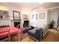 BEAUTIFUL ONE BEDROOM GARDEN FLAT,wood flooring,open plan kitchen/living room with a private patio
