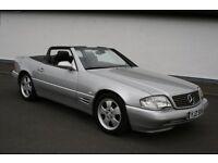 Mercedes 320SL convertable for sale