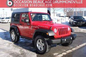 2010 Jeep Wrangler RUBICON 4X4 MANUELLE - 2 TOITS - BAS MILLAGE!