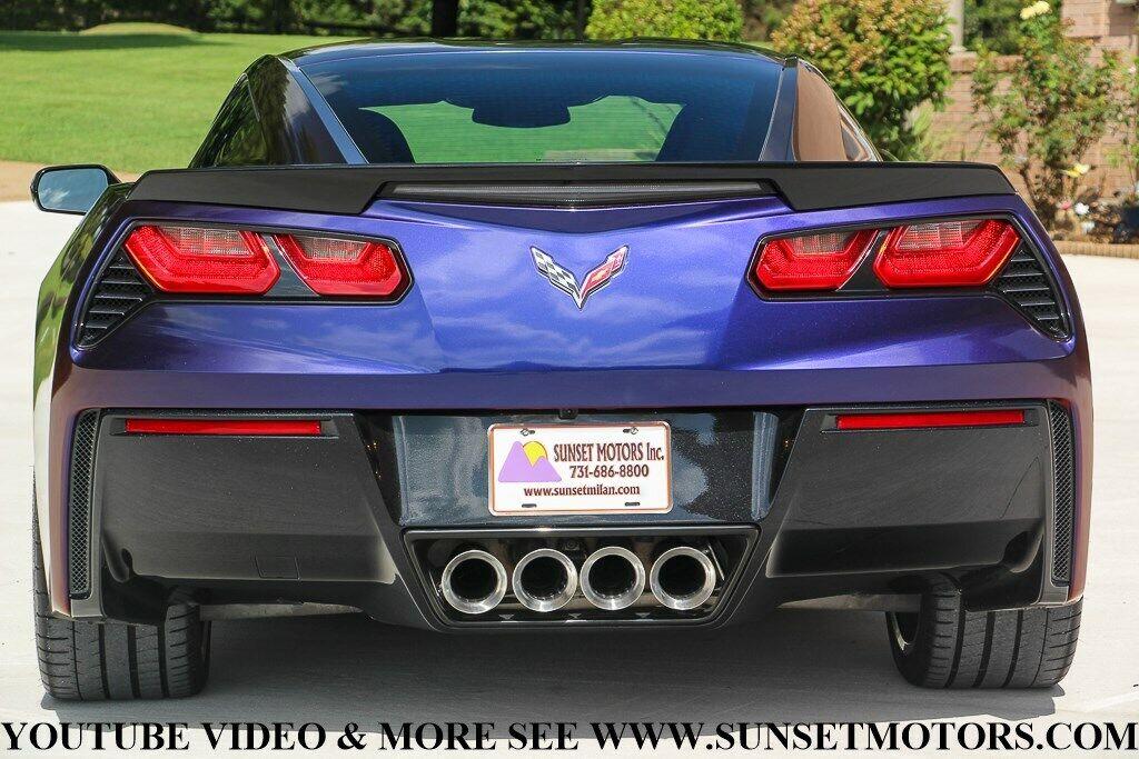 2017 Silver Chevrolet Corvette Stingray Z51   C7 Corvette Photo 6