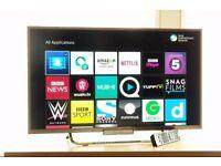 "Sony 32"" Full HD LED Smart TV 200Hz Built in Wi-Fi, Freeview + Freesat HD"