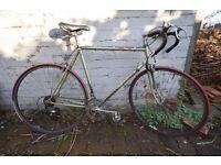 Vintage Mens French Road Bike - Motobecane 56cm Campagnolo Wheels & Casette
