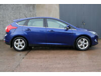 2014 Ford Focus 1.6TDCI Diesel - Deep impact Blue - Rear park sensors