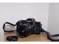 Minolta Maxxum 7000 35mm Film SLR Camera + AF 28-85 Lens